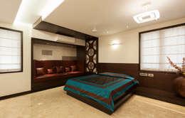 Flat @ Tirupur: modern Bedroom by Cubism