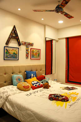 Serenity home!: modern Nursery/kid's room by Neha Changwani