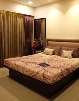 Serenity home!: modern Bedroom by Neha Changwani