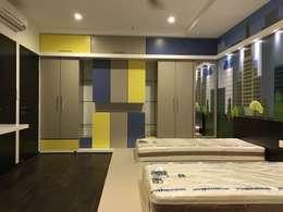 Projekty,  Pokój dziecięcy zaprojektowane przez Studio Stimulus