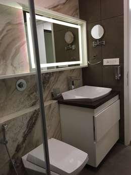 Projekty,  Łazienka zaprojektowane przez Studio Stimulus