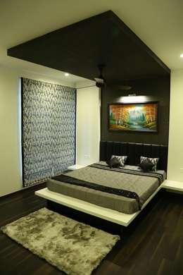 Projekty,  Sypialnia zaprojektowane przez Studio Stimulus
