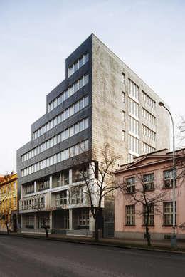 Конкурс на реконструкцию мэрии в Праге 7:  в . Автор – Slava Filipenka architect