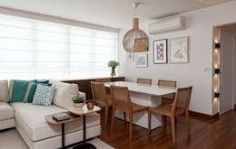 Comedores de estilo moderno por Ambienta Arquitetura