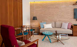 Livings de estilo moderno por Ambienta Arquitetura