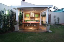 ระเบียง, นอกชาน by canatelli arquitetura e design
