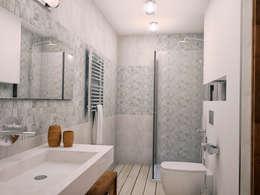 rustic Bathroom by Grafit Architects