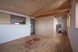 上之町の家: ATELIER Nが手掛けた子供部屋です。