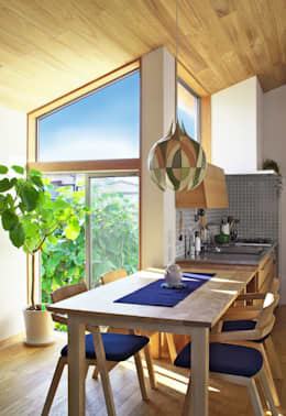 ห้องทานข้าว by かんばら設計室