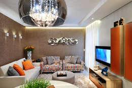 Projekty,  Salon zaprojektowane przez Vanessa De Mani