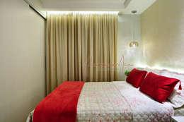 غرفة نوم تنفيذ Vanessa De Mani