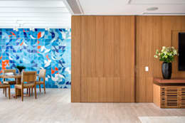 Corridor & hallway by Gisele Taranto Arquitetura
