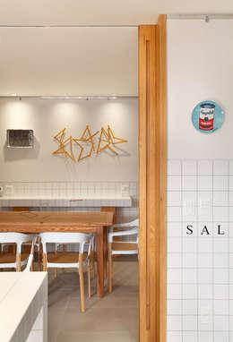 餐廳 by Gisele Taranto Arquitetura