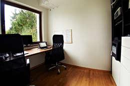 modern Study/office by Biuro Projektów MTM Styl - domywstylu.pl
