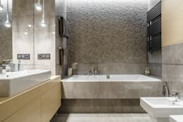modern Bathroom by Anna Serafin Architektura Wnętrz