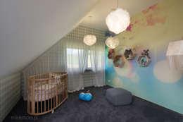 Детские комнаты в . Автор – MINIMOO Architektura Wnętrz