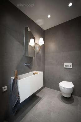 Ванные комнаты в . Автор – MINIMOO Architektura Wnętrz