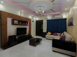 Living Room: modern Living room by Kriyartive Interior Design