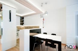 modern Dining room by Novi art