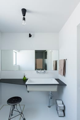 rustic Bathroom by ALTS DESIGN OFFICE