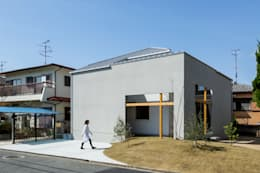 Projekty, rustykalne Domy zaprojektowane przez ALTS DESIGN OFFICE