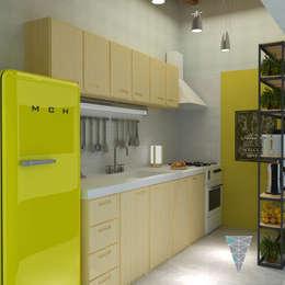 Кухни в . Автор – JUNE arquitectos