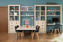 modern Study/office by MARIANGEL COGHLAN