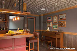 Bar: Cavas de estilo moderno por MARIANGEL COGHLAN