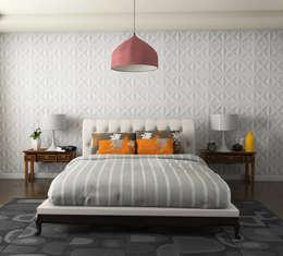 Habitaciones de estilo minimalista por MAGEN | Revestimentos Cimentícios