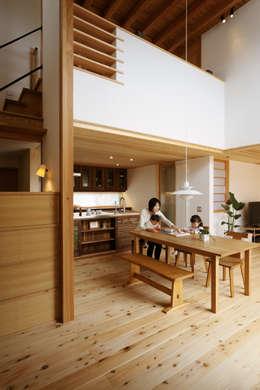 Comedores de estilo escandinavo por 藤松建築設計室