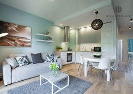 غرفة المعيشة تنفيذ MOA design