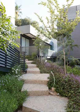 Concrete House : modern Garden by Nico Van Der Meulen Architects