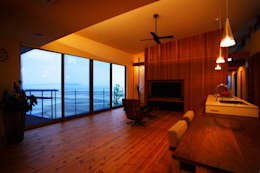 海の家: Y.Architectural Designが手掛けたリビングです。