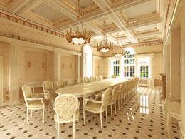 Усадьба Гринфилд: Столовые комнаты в . Автор – Архитектурное строительное бюро КАРЛОСН и К.
