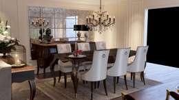 VERO CONCEPT MİMARLIK – Karadavut Villa: modern tarz Yemek Odası