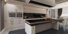 VERO CONCEPT MİMARLIK – Karadavut Villa: modern tarz Mutfak