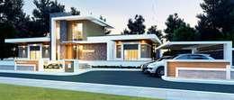 VERO CONCEPT MİMARLIK – Karadavut Villa: modern tarz Evler
