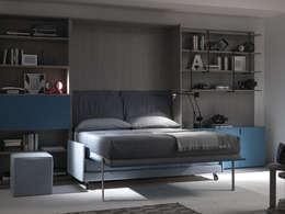 Dormitorios de estilo moderno de Artigiani in città