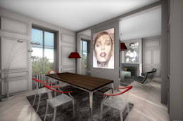 Salle à manger moderne: Salle à manger de style de style Moderne par réHome