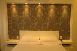 Dormitorios de estilo moderno por Paula Oliveira Szabo Arquitetura