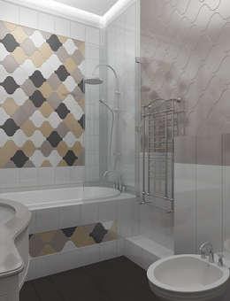 Projekty,  Łazienka zaprojektowane przez VITTA-GROUP