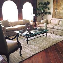 Salas de estar modernas por FLAM RUGS