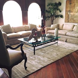 modern Living room by FLAM RUGS
