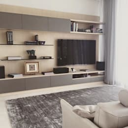 modern Living room by FLAM RUGS