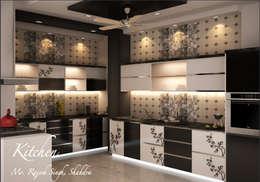 Cocinas de estilo moderno por Dzine Route