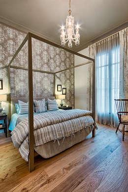 Projekty,  Sypialnia zaprojektowane przez Pal de Rosa