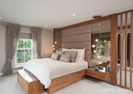 Contemporary Living: modern Bedroom by Aubury Design