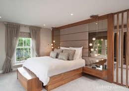 غرفة نوم تنفيذ Aubury Design