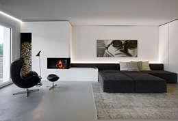 غرفة المعيشة تنفيذ Burnazzi  Feltrin  Architects