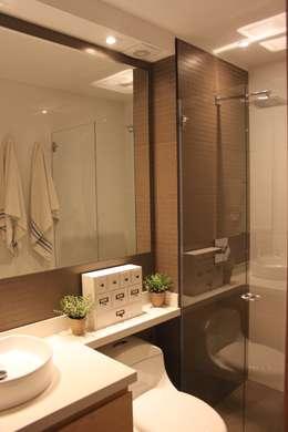 Projekty,  Łazienka zaprojektowane przez Home Reface - Diseño Interior CDMX